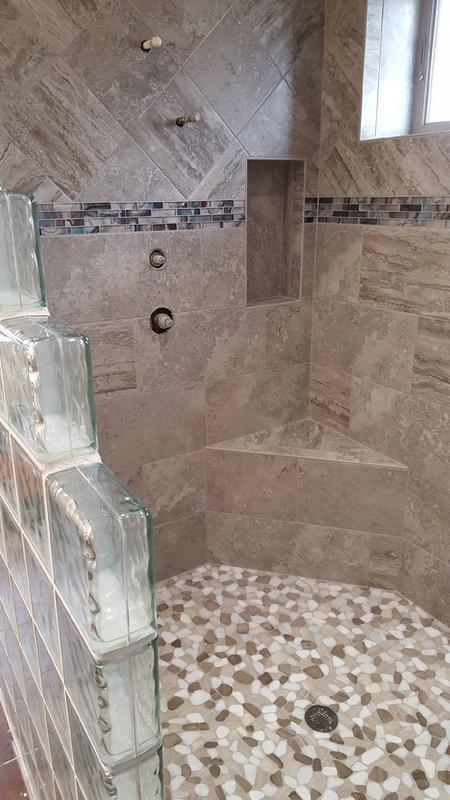 Custom Tile Showers
